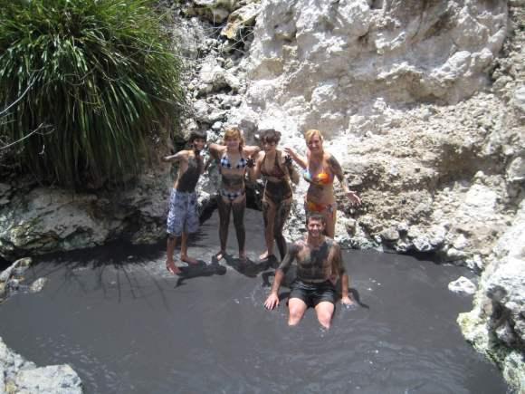 Mud Baths - Soufriere Volcano