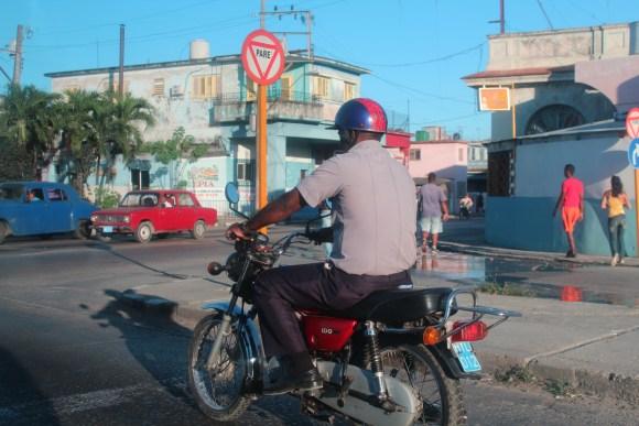 Transportation on the streets of Havana, Cuba