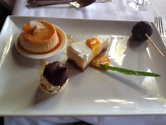 Dessert selection at Little Palm Island, Little Torch Key Dessert selection at Little Palm Island, Little Torch Key