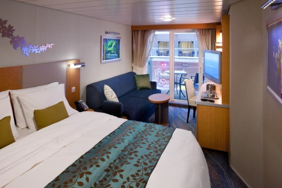 Boardwalk View Stateroom, Oasis of the Seas - Royal Caribbean