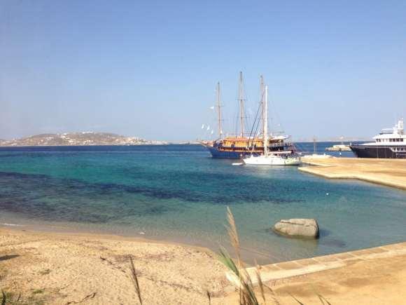 Mykonos Harbor, Aegean Sea