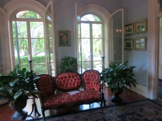 Living Room at Hemingway's House Key West