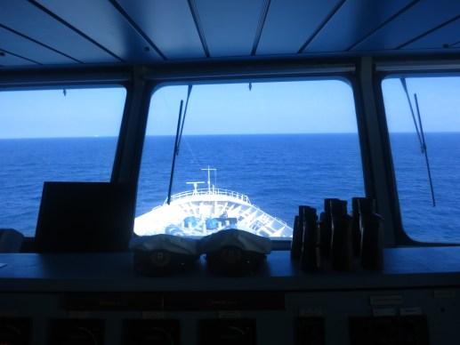 Splendour of the Seas Bridge View