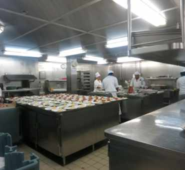 Behind the Scenes Galley Tour on Splendour of the Seas
