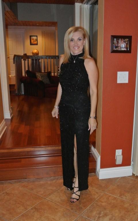 evening dress attire