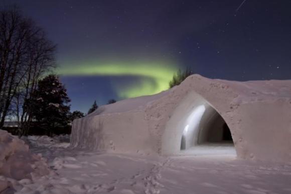 Arctic Snow Hotel Sinetta, Finland