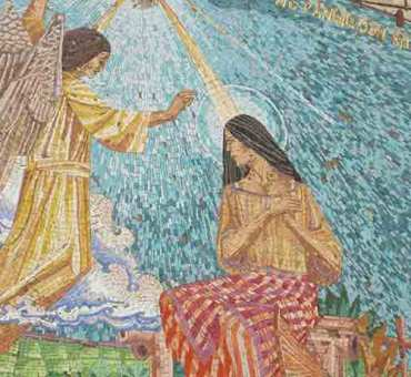 Mosaics Church of the Annunciation
