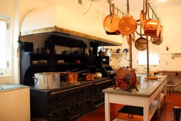 Kitchen at Vizcaya Museum and Gardens, Miami