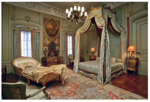 Guest Room at Vizcaya Museum and Gardens, Miami