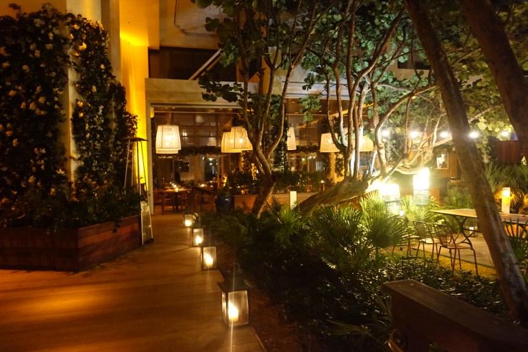 W Hotel South Beach Courtyard