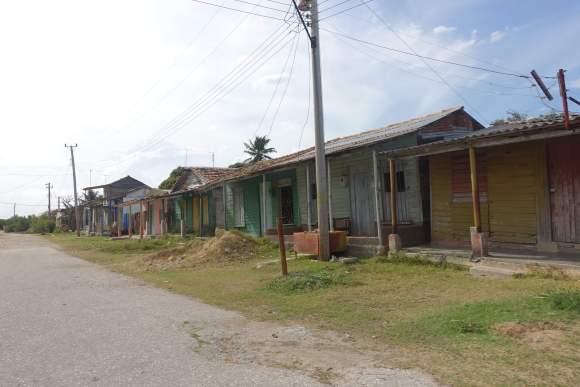 The town of Isabela de Sagua, Cuba