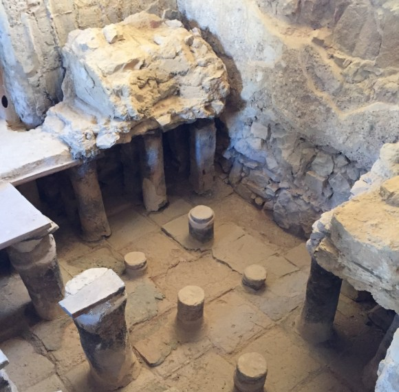 Mesada Large Bathhouse Remains