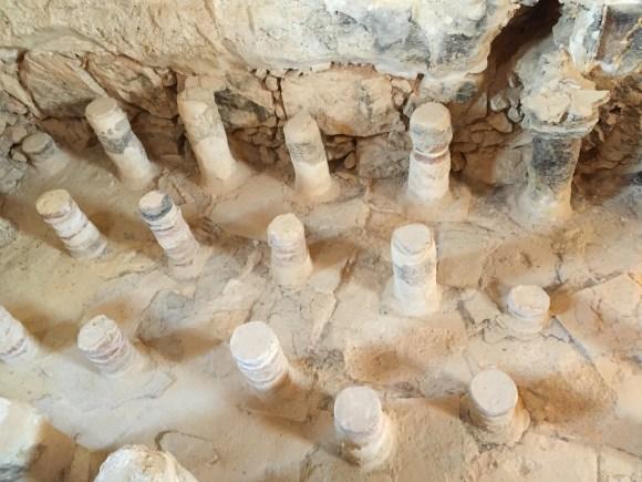 Remains of Masada bathhouse