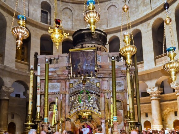 Dome above the Tomb of Christ Sepulchre, Church of the Holy Sepulchre, Jerusalem