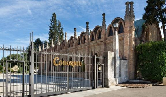 Codorniu Cava Winery Entrance