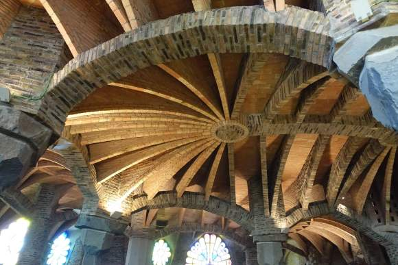 Gaudi's Cryst Ceiling - Colonial Guell