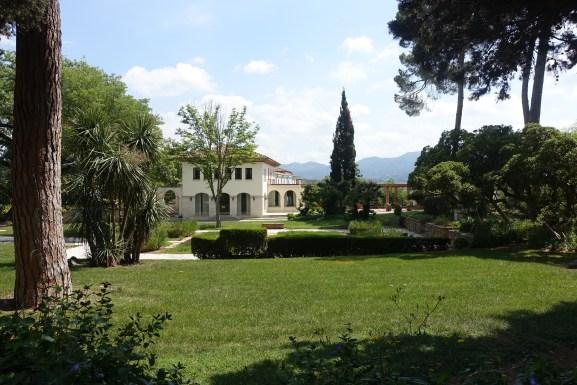 Codorniu Cava Winery grounds