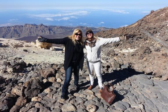 Teide Summit path, Teide National Park, Tenerife