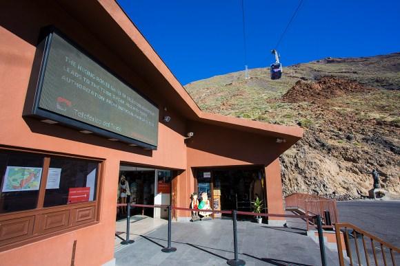 Teleferico de Teide, Teide National Park, Tenerife. Mount Teide