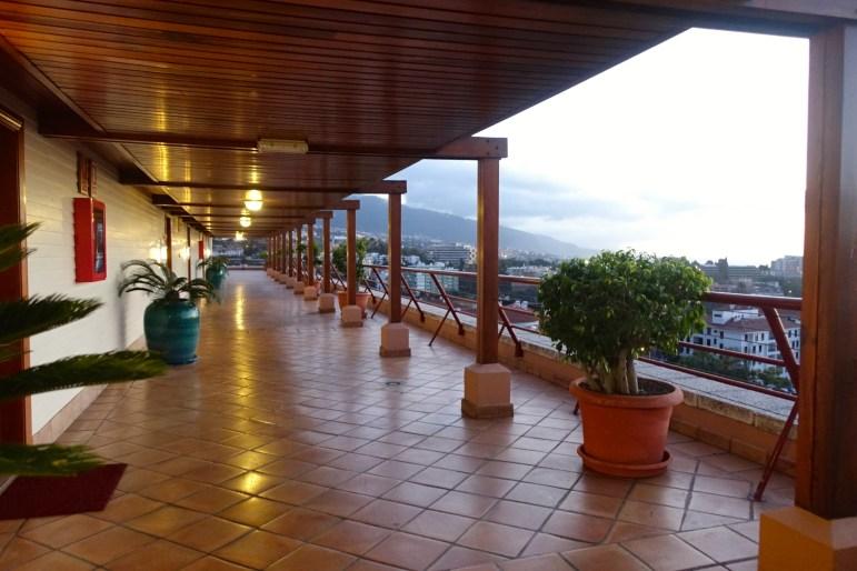 Hotel Botanico Hallway, Puerto de La Cruz Tenerife