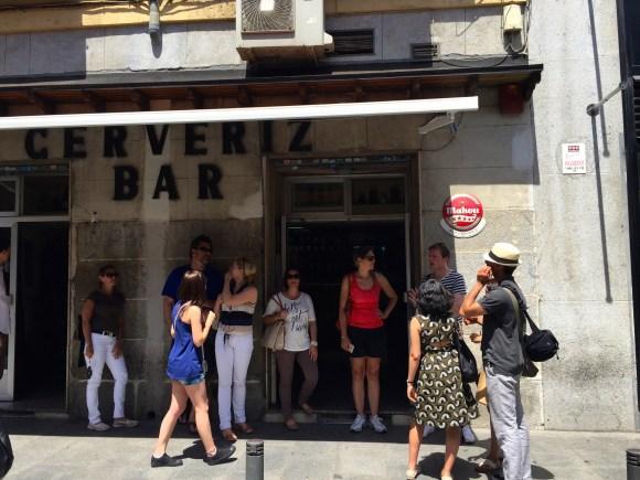 Madrid Food Tour - Cerveriz Bar