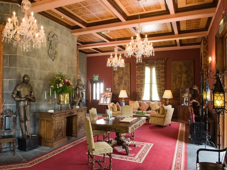 Dreamland Castle Reception Area, Ireland