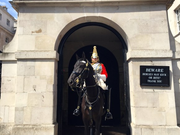Horse Guards at St. James's Palace