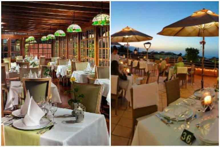 Il Pappagallo Restaurant, Hotel Botanico, Puerto de La Cruz