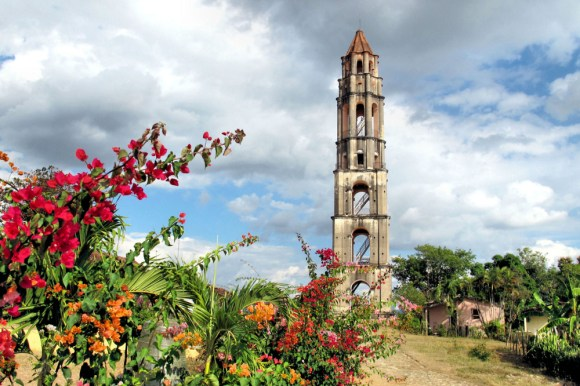 Iznaga Tower offers a spectacular view of the fields of Cuba from the top - Trinidad(Photo Credit: infotravel.com)
