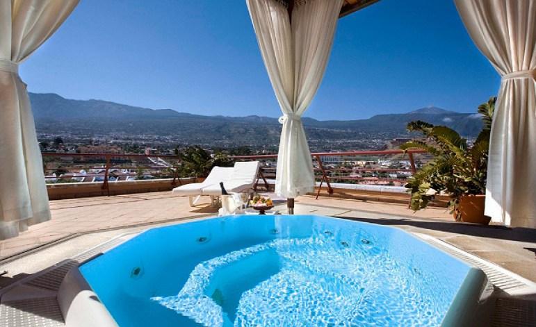Hotel Botanico Penthouse Suite Outdoor Terrace Jacuzzi
