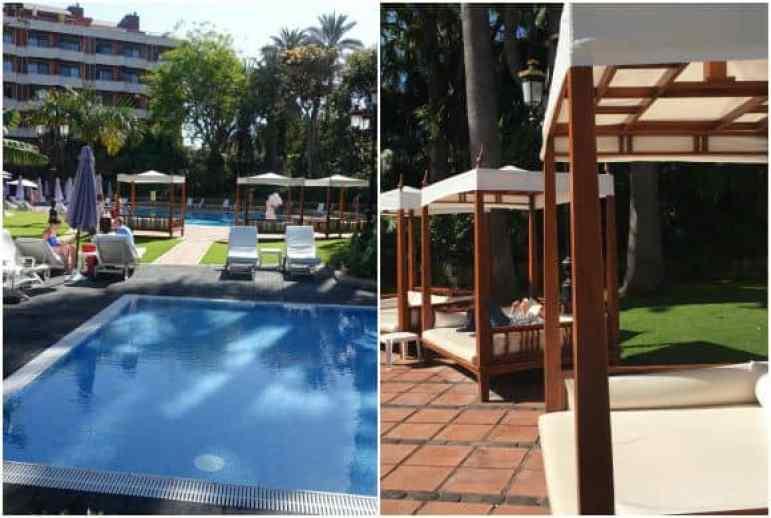 Pool Area of Hotel Botanico, Puerto de La Cruz