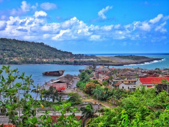 The town of Baracoa, Cuba (photo credit: www.worldwanderlista)