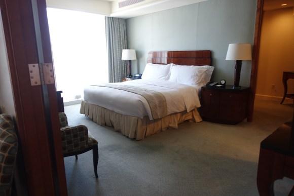 One Bedroom Suite Bedroom - The Ritz Carlton