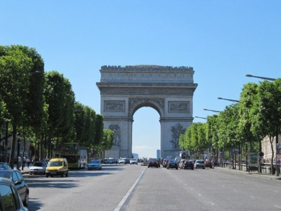 Champs D'Elysee, Paris