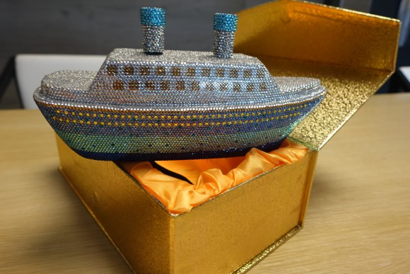 SS DUTCHESS Boat Purse (Model: 587)