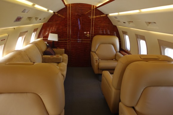 Inside PrivateFly's Challenger 601 Private Jet