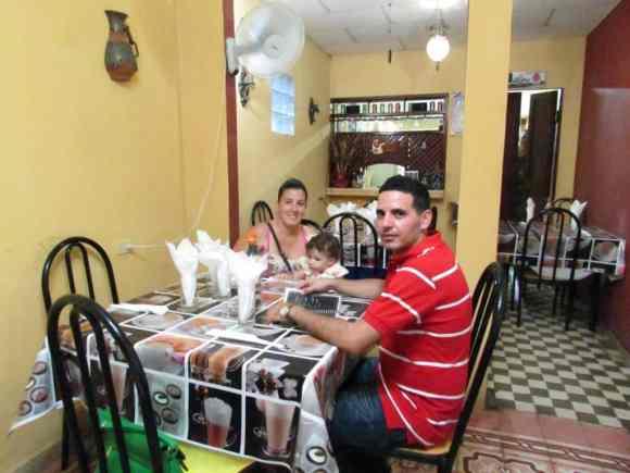 La Meson a traditional Cuban restaurant in Placetas Cuba