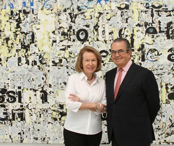 Rosa and Carlos de la Cruz (Image Source: De La Cruz Collection)