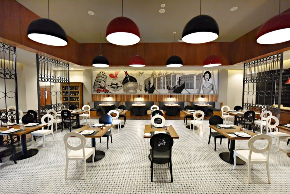 CHIC Vespa Restaurant (Image: CHIC by Royalton)