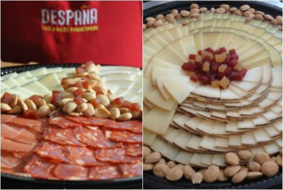 Despaña Fine Foods & Tapas Cafe Party Catering Platters of Hams and Cheeses (Image: Despaña)
