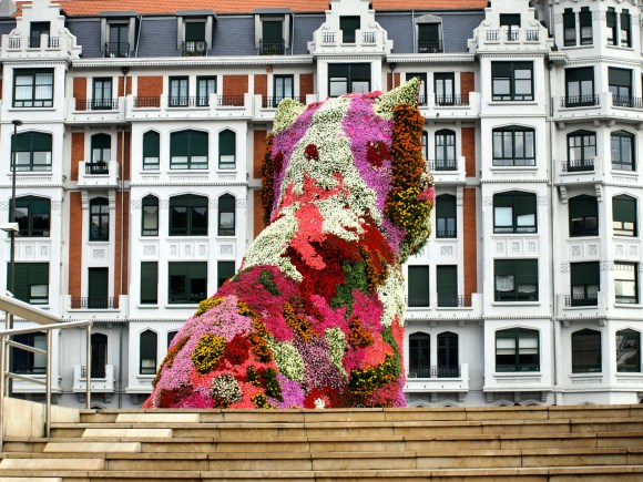 Puppy, Bilbao (Image: Tours of Basque)