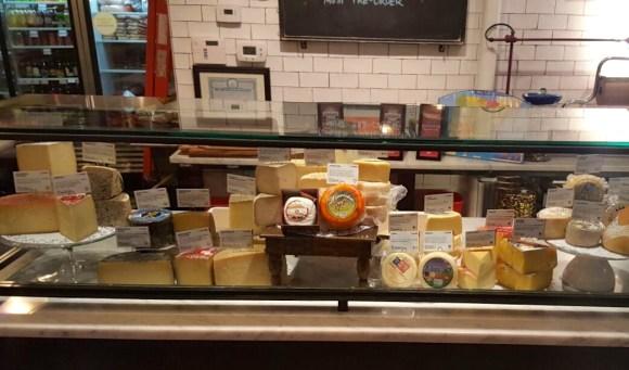 Despaña Fine Foods & Tapas Café Cheese Counter in Soho