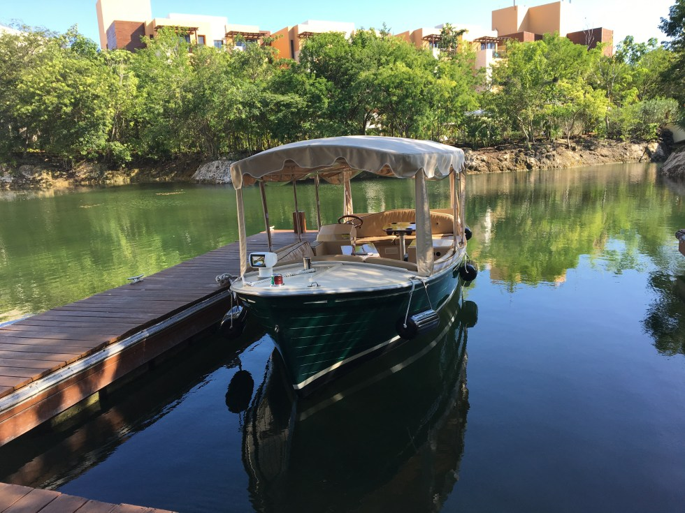 Boat Ride for the Nature Tour - Fairmont Mayakoba