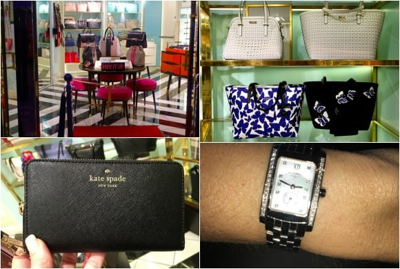 Shopping on the Oasis of the Seas - Kate Spade New York, and Regalia Jewelry Store