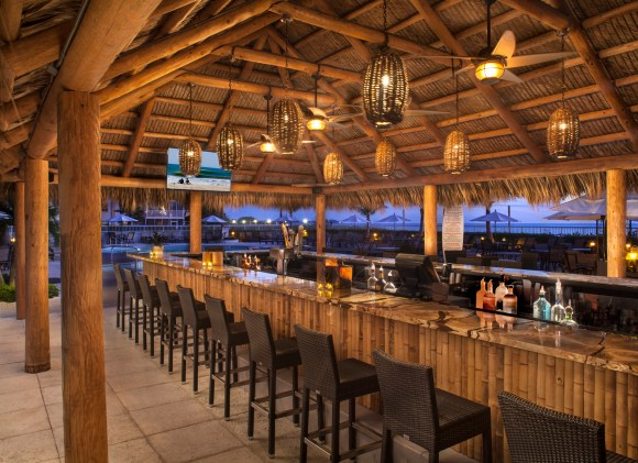 Tiki Bar Opal Sands Resort (Image Courtesy Opal Sands Resort)