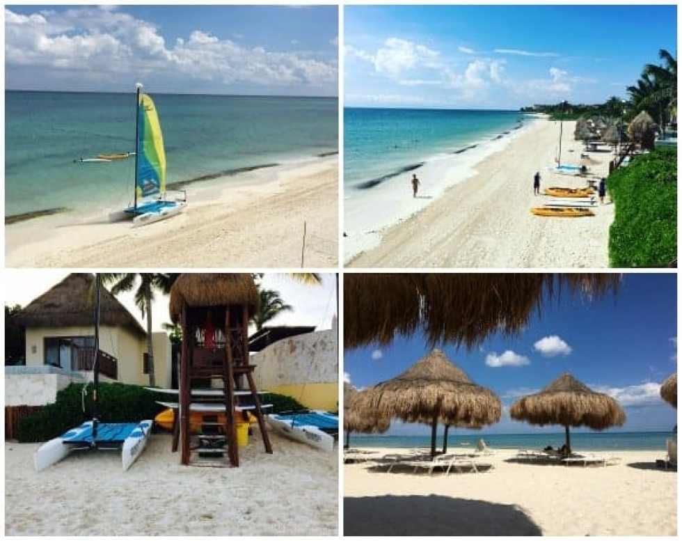 Fairmont Mayakoba Beach Area Activities