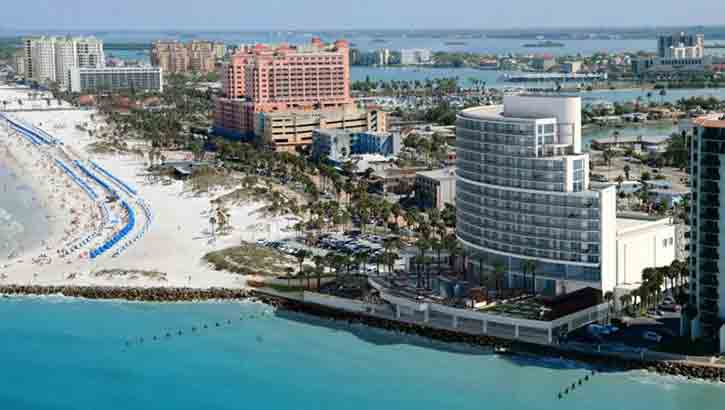 Opal Sands Resort – New Luxury Beachfront Hotel in Clearwater Beach