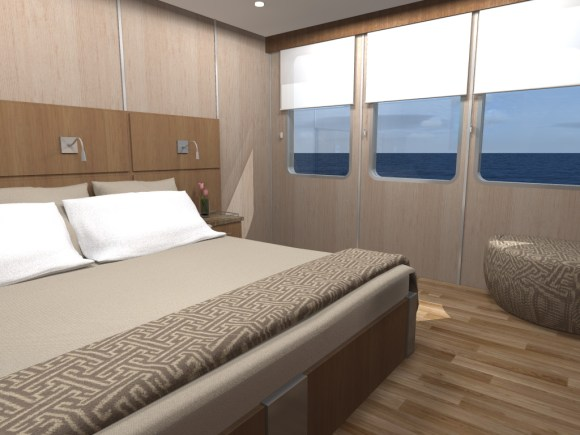 MV Origin Bedroom Accommodations (Image Ecoventura)