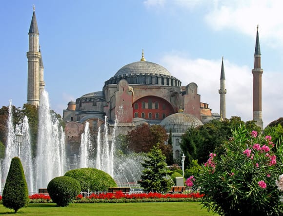 Hagia Sophia photo by Dennis Jarvis under the Creative Commons License