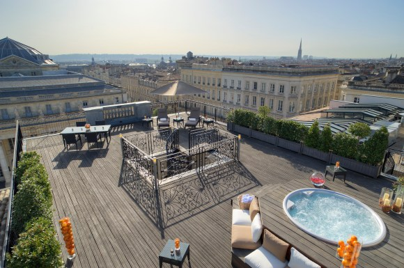 InterContinental Bordeaux – Le Grand Hotel - Suite Royale - Terrasse (Image IHG)